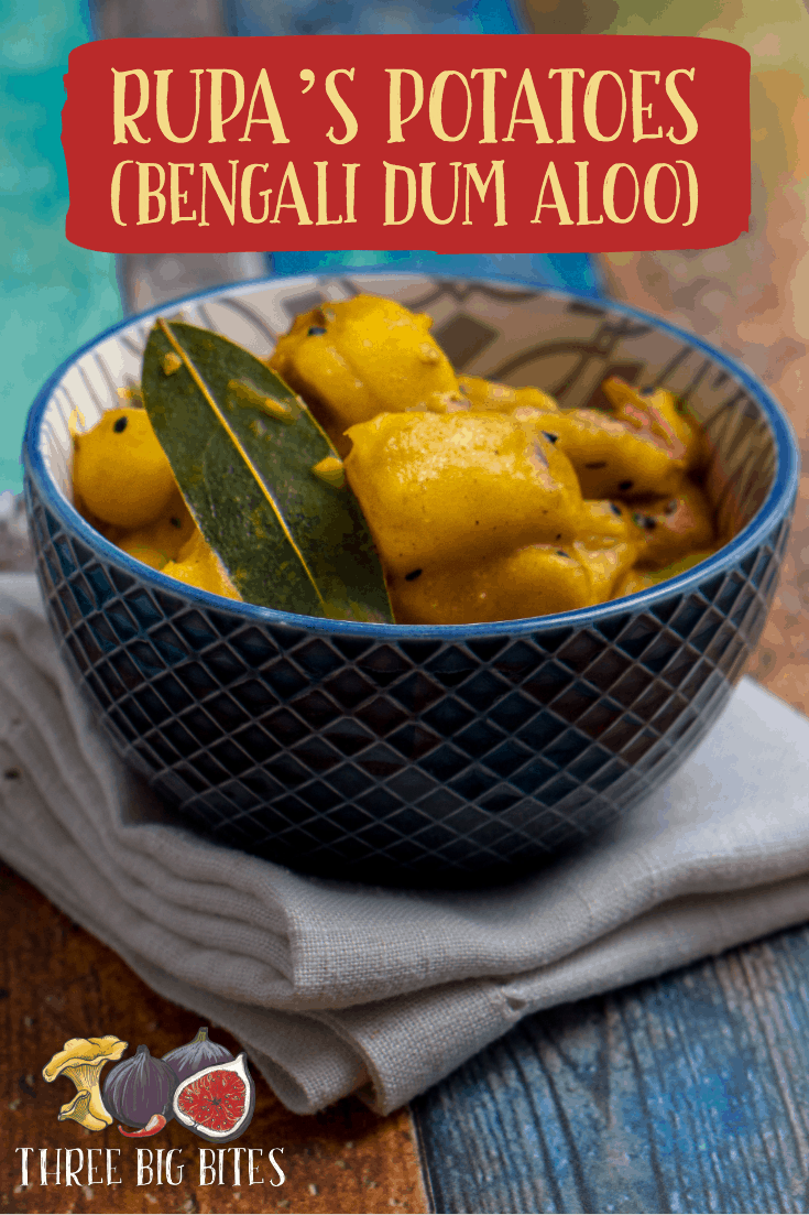 This vibrant recipe is perfect as a main course along with flatbread. || international recipes | world food | recipes from India || #Indianfood #Bengalifood #dumaloo #Indianrecipes
