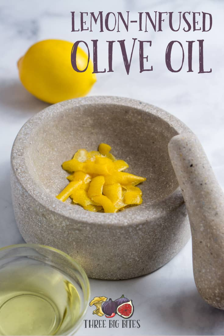 Use this cooking tutorial to make your own lemon-infused olive oil, which you can use in place of agrumato. || flavored oil recipes | lemon-flavored oil | make flavored oils at home || #agrumato #lemoninfused #lemonoil #cookingtutorial #cookingbasics